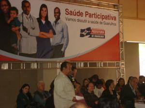 Prof. Rômulo no Saúde Participativa 2001/2012